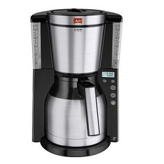 Melitta Look IV Therm Timer 1011-16 Filter Coffee Machine, Cappuccino Machine, Drip Coffee Maker, Coffee Cups, Stainless Steel Panels, Stainless Steel Pot, Espresso Maker, Filter, Coffee Break