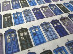 Dr. Who  fabrics.  I love them!