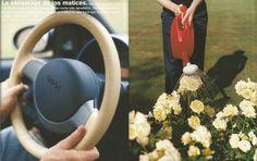 """Volante. Extracto del libro promocional Smart """"Reduce to the max"""" 1998."""