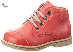 Froddo Kids Shoes G2130112-1, Chaussures à Lacets Mixte Enfant, Rot (Red