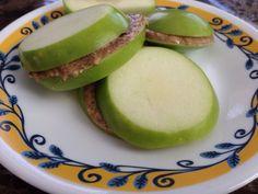 Apple Almond Butter Breakfast Sandwiches
