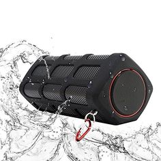 Special Offers - Domon WaterproofDustproof and Shockproof outdoor Power Bank Portable Shower Stereo wireless Bluetooth Speaker with CSR 4.0 -The Best Or Nothing! Designed By Domon in Germany-S400(Black) - In stock & Free Shipping. You can save more money! Check It (July 27 2016 at 05:42PM)…