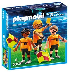 From 19.22 Playmobil 6859 Sports And Action Football Referee Team Figure
