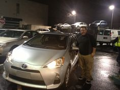 We'd like to extend our congratulations to Vincent from salesperson Qasim Azad on his 2012 Toyota Prius c!