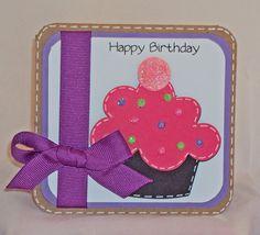 cricut+birthday+card+ideas   Super Easy Birthday Card- 7 Minute Card