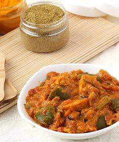 Restaurant Style Kadai Paneer Gravy - Main Ingredients of this Punjabi Curry are Paneer, Capsicum, Tomato, Onion and Indian Spices  - Serve with Phulka Roti, Paratha or Butter Nan in Lunch or Dinner