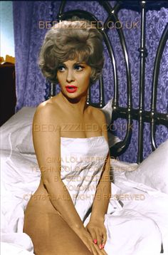GINA LOLLOBRIGIDA TECHNICOLOR CONVERSION/RESTORATION OF FAIR B/W PRINT