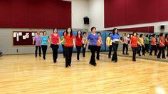 Caught In The Moonlight - Line Dance (Dance & Teach in English & 中文)