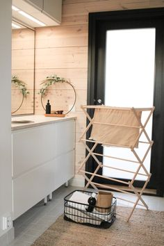 #laundryroomideas #kodinhoitohuone #pyykinkuivaus #utilityroom #skandinavianhome Laundry Storage, Laundry Room, Scandinavian Style, Bathroom Ideas, Room Decor, House Design, Furniture, Home, Scandinavian