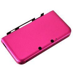 2a2a6e80a6d2 Aluminium Bag Case Cover Protective Case for Nintendo 3DS XL LL Peachblow  PK