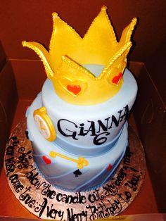 Gianna's 6th bday cake - Alice in Wonderland themed