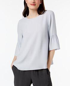 dd5e94bd1cd08 Jm Collection Cold-Shoulder Swing T-Shirt