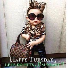 Good morning everyone. Happy Tuesday.