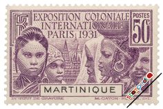 Stamps of Martinique
