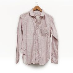 Engineered Garments - Pink Small Floral Round Collar Shirt from Gramercy York
