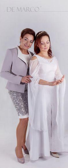 Modna i piękna mama wesela. Sukienki projektowane i szyte na miarę.   #wadowice #krakow #poznan #warszawa #tych #sukienka #wesele #panna #młoda #ślub #mama #szcie #sukienka
