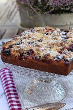 Gâteau du dimanche aux prunes