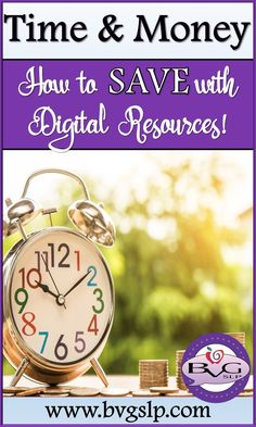 Digital: How to Save Time & Money! Receptive Language, Speech And Language, Language Arts, Speech Therapy Activities, Language Activities, Therapy Games, Interactive Learning, Teaching Resources, Classroom Resources