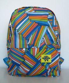 mokuyobi: color angles kid's backpack