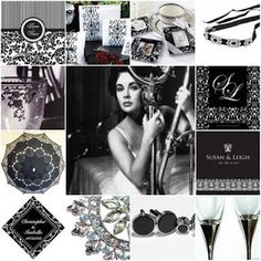 Wedding Themes - Wedding Style: A Black and White Wedding Theme For Beautiful Contrast