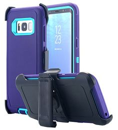 Galaxy S8 Plus Case, AICase Heavy Duty Holster Case Belt Clip + Armor Protective Kickstand Tough 4 in1 Rugged Shorkproof Cover for Samsung Galaxy S8 Plus (2017) (Purple/blue) #Galaxy #Plus #Case, #AICase #Heavy #Duty #Holster #Case #Belt #Clip #Armor #Protective #Kickstand #Tough #Rugged #Shorkproof #Cover #Samsung #(Purple/blue)