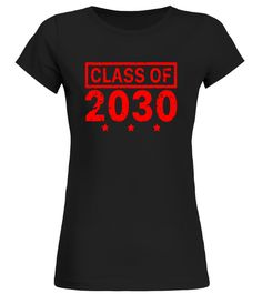 New Kids Class Of 2030 Tshirt Red Color