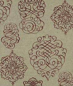 Robert Allen Quill Fancy Raspberry Fabric - $35.8 | onlinefabricstore.net