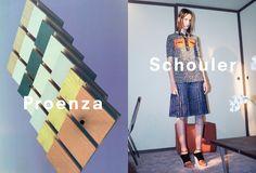 Proenza Schouler spring/summer 2015 campaign #proenzaschouler #ss15 #hollygolightly
