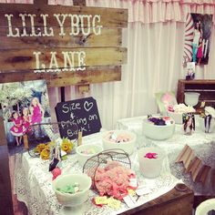 """I like the sign... I call my Lilly """"Lilly bug"""". queen bee market - lillybug lane"""