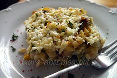 Risotto, Potato Salad, Macaroni And Cheese, Pizza, Potatoes, Lunch, Ethnic Recipes, Food, Lasagna