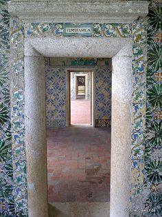 Doorways, Casa dos #Azulejos, Palacio da Bacalhôa, #Azeitão #Portugal