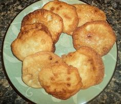 This fried cornbread is something my mother always made for us when we had homemade vegetable beef soup. It's delicious with soups, chicken and pastry, or just as a snack.