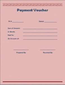 A payment voucher template is a simple written document which can be used for official purposes related to the concern of payments and transactions. Word Templates, Templates Printable Free, Free Printables, Happy Birthday Dear Sister, Voucher Template Free, Job Letter, Company Letterhead, Accounting And Finance, Bathroom Plumbing