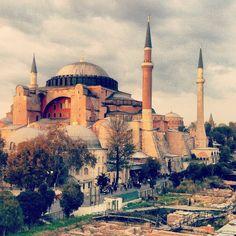 Hagia Sophia Mosque in Istanbul - Turkey