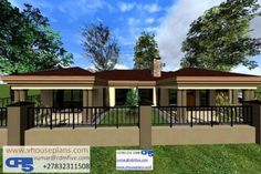 Round House Plans, House Plans With Photos, House Floor Plans, Minimalist House Design, Minimalist Home, House Plans South Africa, Tuscan House, Site Plans, Garage Plans