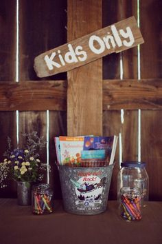 You don't need the latest technology or vast amounts of money to keep your little guests entertained at your wedding. We've found these creative ways to captivate children at your wedding that will guarantee happy, smiley mini people. Just what you need on your big day!    (adsbygoogle = window.adsbygoogle || []).push({}); PhotoRead more