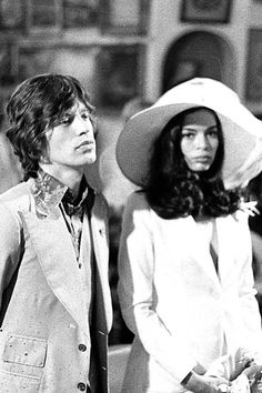 Bianca Jagger - possibly the sexiest bride ever?  (BridesMagazine.co.uk)