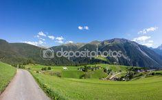 #Davos #Wiesen #Graubuenden #Switzerland #View In #Summer @depositphotos #depositphotos #nature #landscape #mountains #hiking  #travel #summer #season #sightseeing #vacation #holidays #leisure #outdoor #view #wonderful #beautiful #panorama #stock #photo #portfolio #download #hires #royaltyfree