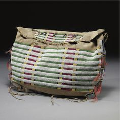 A Sioux Beaded Hide Possible Bag   Lot   Sotheby's