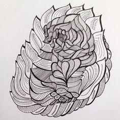 New sketchbook drawing #artbymal #art #artist #micronpens #ink #drawing #sketchbook