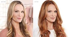 How to Go From Blonde to Red #hair #tips---not sure, but feeling like I need a big change