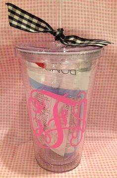 Bachelorette Party Favors: great idea, then use them for your drinks all weekend!