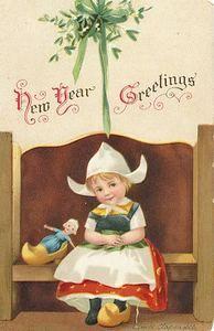 Vintage New Years Postcard | eBay