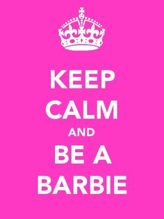Be a Barbie