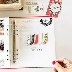 I wrapped up my #decemberdaily with a year in review collage of some of our favorite moments of 2018. I used the amazing new collection… Travel Journal Scrapbook, Mini Scrapbook Albums, Mini Albums, Scrapbook Pages, Christmas Journal, Christmas Scrapbook, Flip Books, Mini Books, Rudolph Christmas