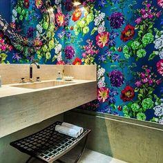 Floral Bathroom Decor