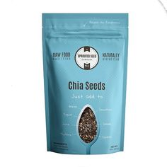 Summer Sale 20% Off - 2 lbs Black Raw Chia Seeds are Rich in Omega 3, Antioxidants, Minerals and Fiber - Great for Baking, Smoothies and Salads - Vegan Diet Friendly >>> Check out this great product.