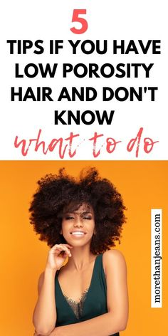 Build your own hair regimen if you have low porosity hair with these 5 tips. Includes amazing products to help you in your journey. #naturalhair #curlsandcocoa