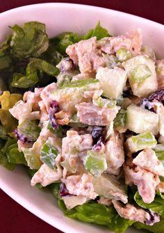 Chicken- Apple Crunch Salad #recipe