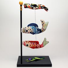 carp streamer made by Chirimen fablic